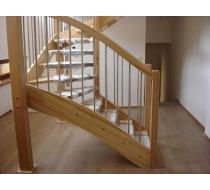 Dřevěné schodiště 4