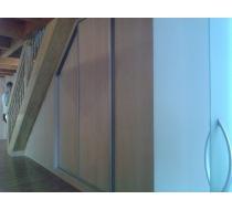 Interiér vestavěné skříně 1
