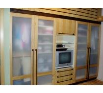 vestavěné skříně ze dřeva 2