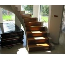 Výroba schodů